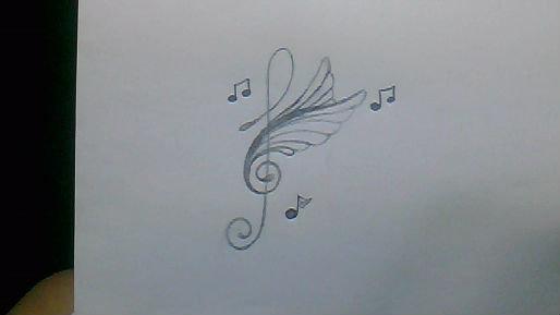 pin tatouage partition ou note de musique keem collection go pics on pinterest. Black Bedroom Furniture Sets. Home Design Ideas